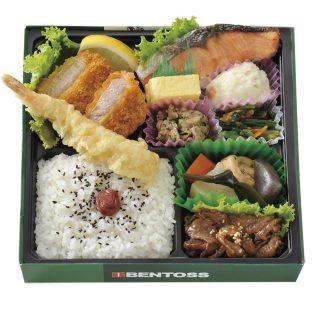 ベントス幕の内弁当(十勝若牛焼肉)