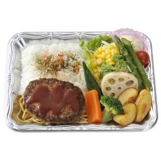 野菜de食べるハンバーグプレート