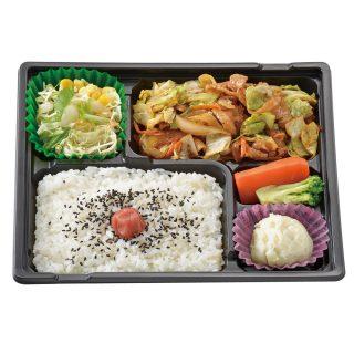 豚肉の野菜炒め弁当