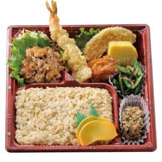 バランス弁当(玄米ご飯)